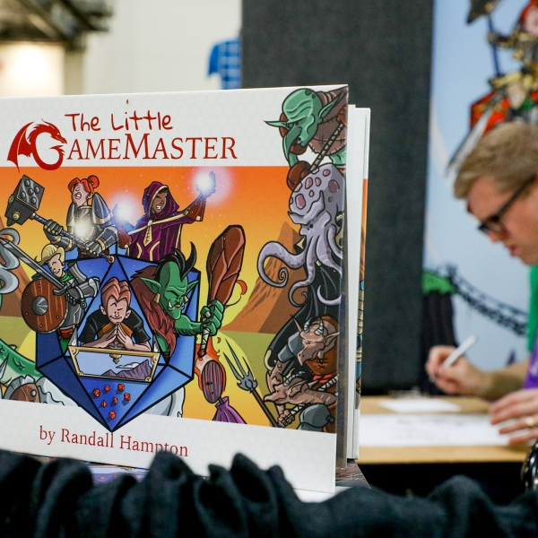 Gamers and comic book enthusiasts gathered for the GrandCon Gaming & Comic Arts Convention at the DeVos Place in Grand Rapids during Labor Day weekend. (Michael Buck/WOOD TV8)