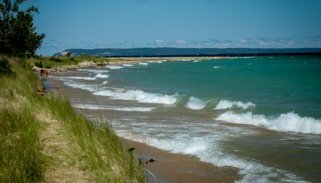 There is nothing like a Pure Michigan summer day at Sleeping Bear Dunes. (Aug. 13, 2019) (Michael Buck/WOOD TV8)