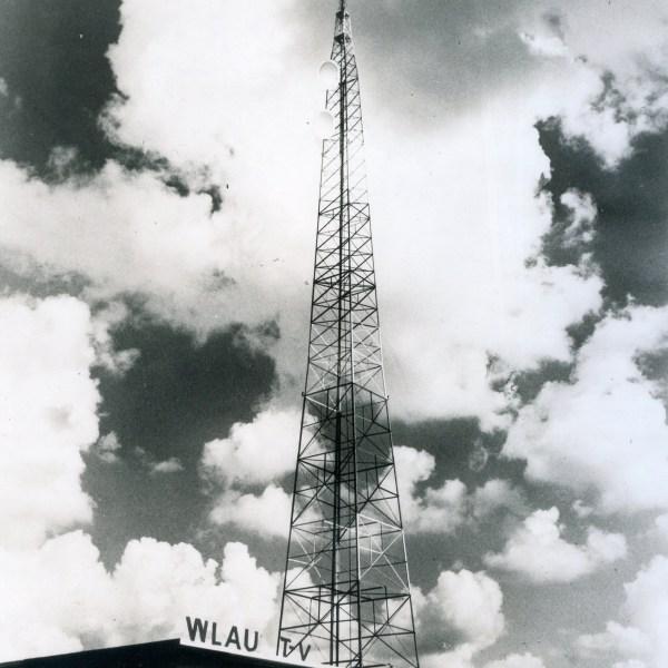 1949 WLAV tower