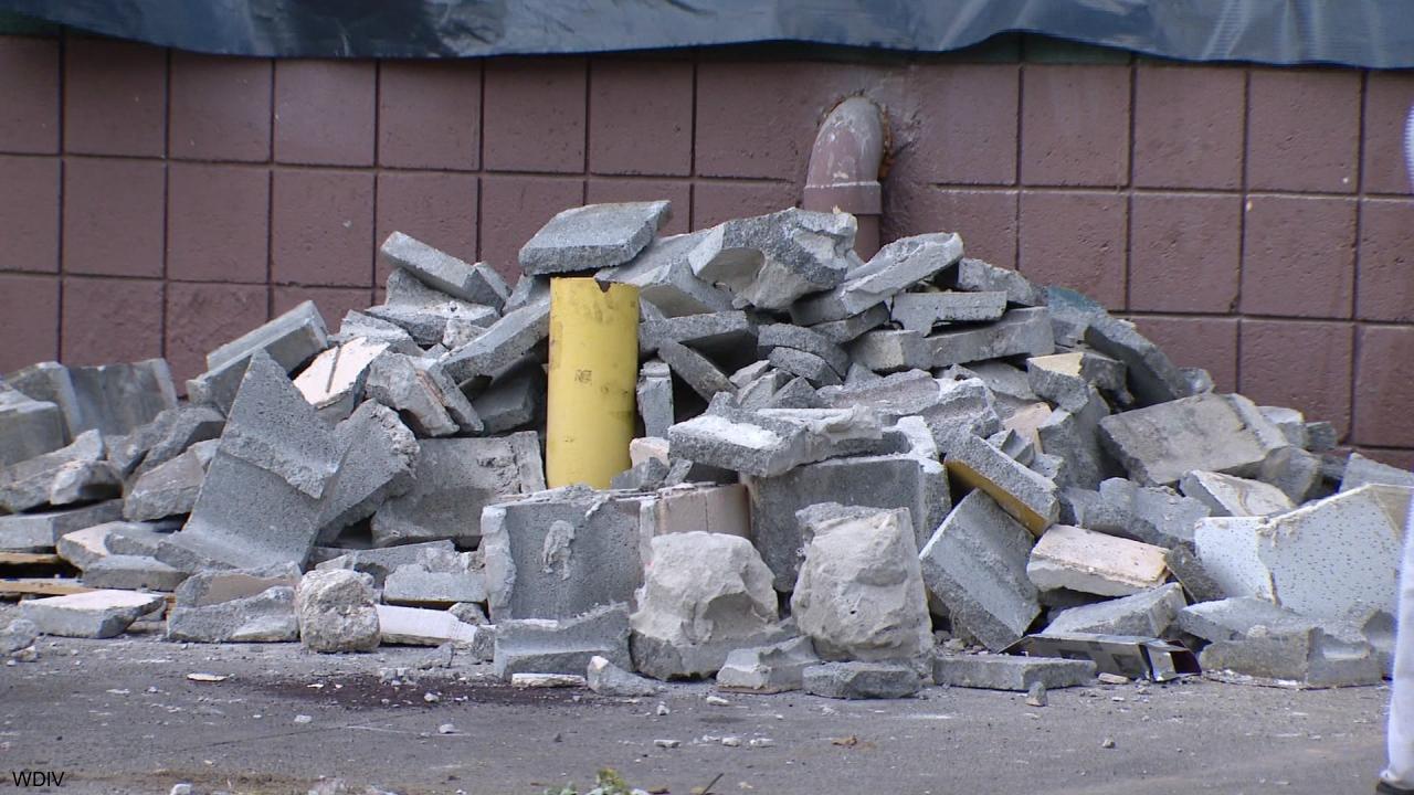 detroit liquor store excavator break-in