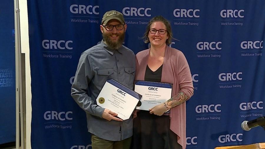 grcc metallica scholars welding graduation