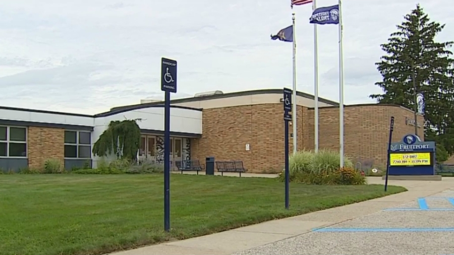 new fruitport high school exterior