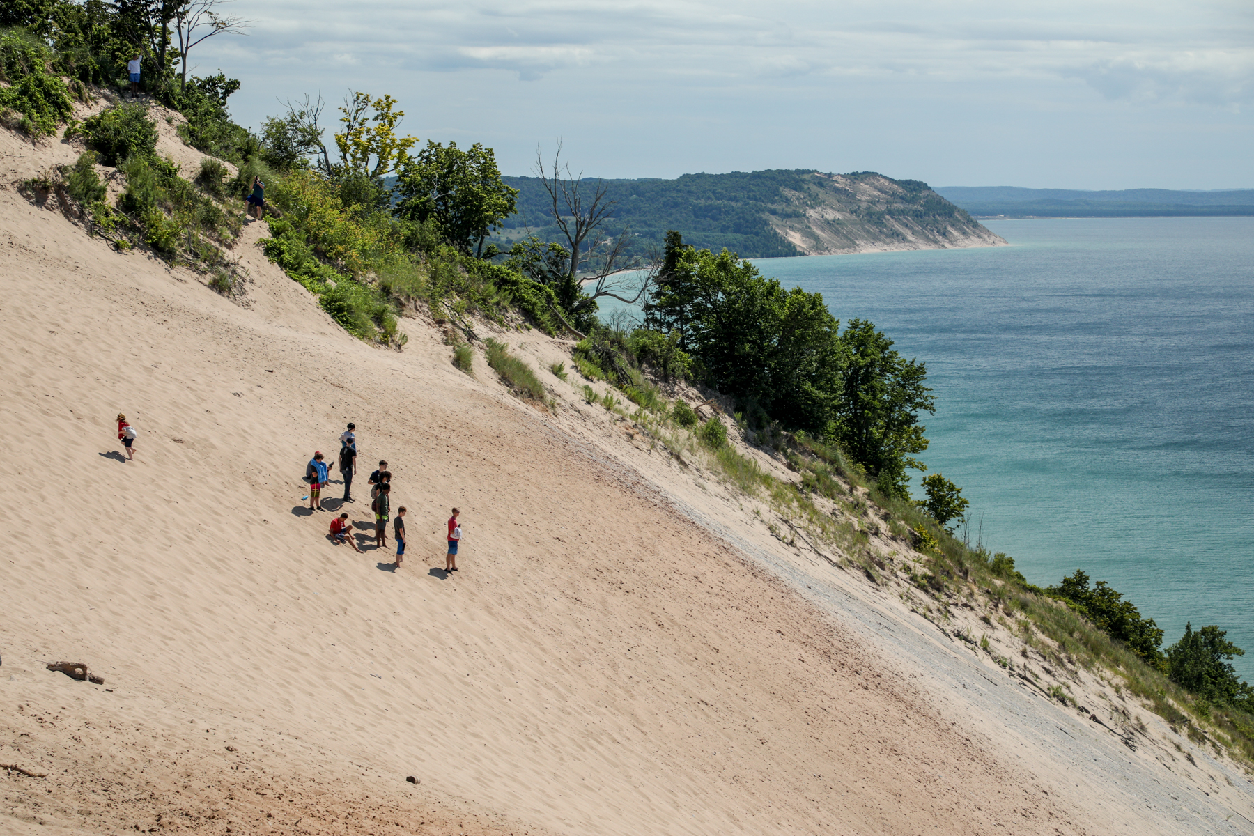 There is nothing like a Pure Michigan summer day at Sleeping Bear Dunes. (Aug. 17, 2019) (Michael Buck/WOOD TV8)