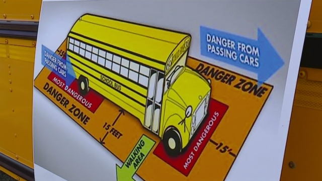 Drivers train for possible school bus problems