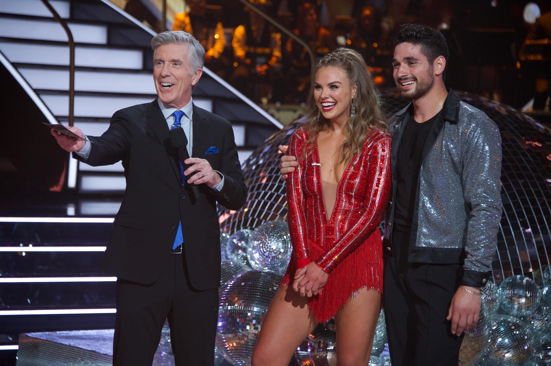 Hannah Brown And James Van Der Beek Score Big On Dancing With The Stars Premiere Woodtv Com