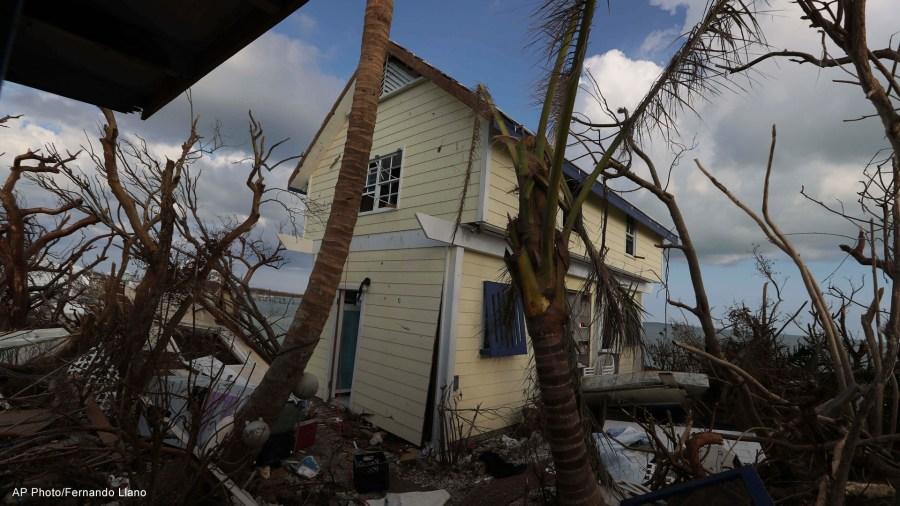 dorian damage bahamas