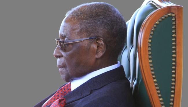 Former president Mugabe in an undated photo (AP photos)