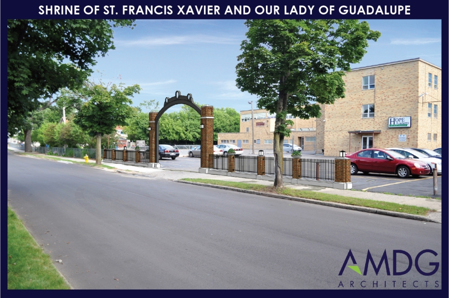 St Francis Xavier Arch of Hope rendering