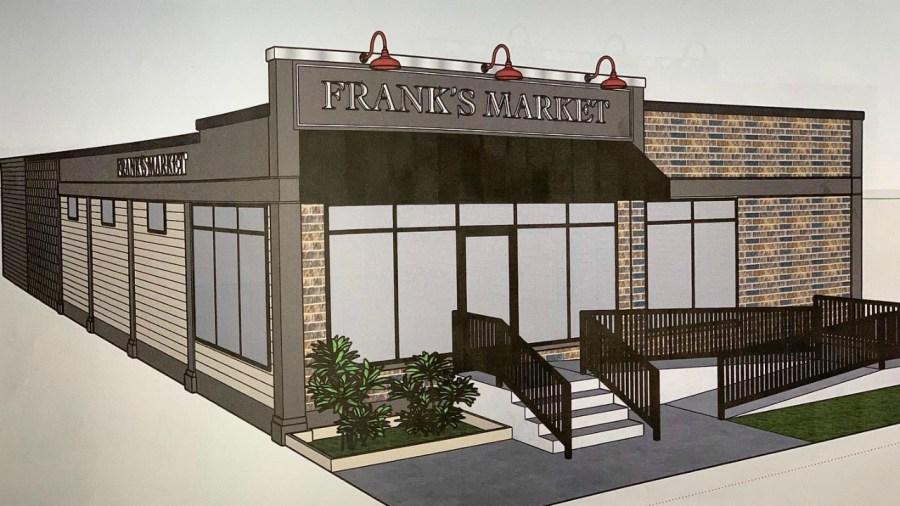 frank's market rendering