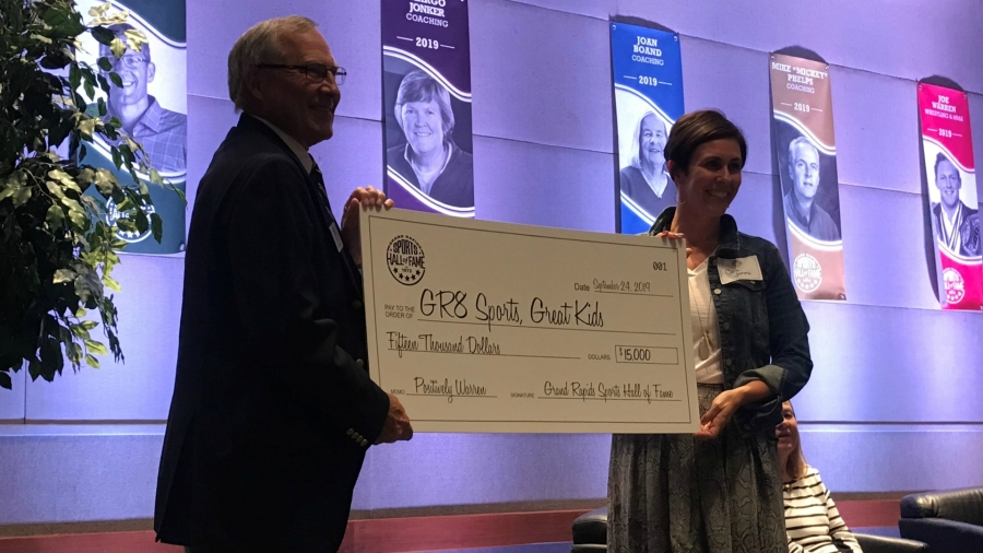 grand rapids sports hall of fame donation