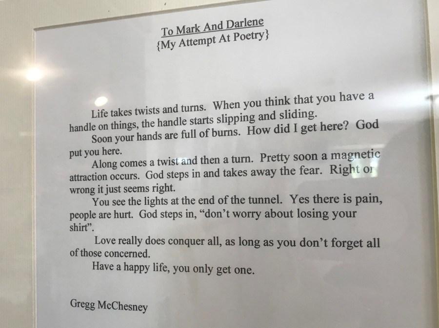 gregg mcchesney poem