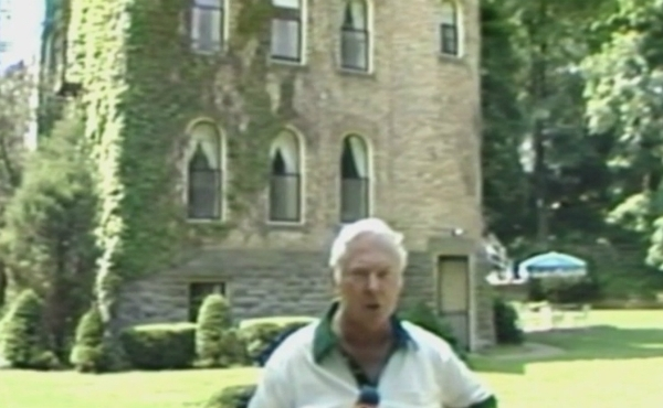 """In 1981, Dick Evans got a rare look inside Castle Park, a swanky private neighborhood association south of Holland, for his popular """"On The Michigan Road"""" series."""
