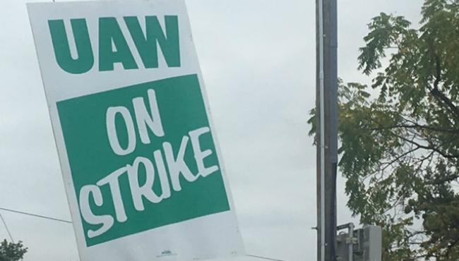 wyoming gm plant uaw strike