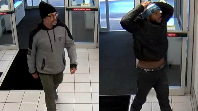 Police look for men possibly involved in overdose