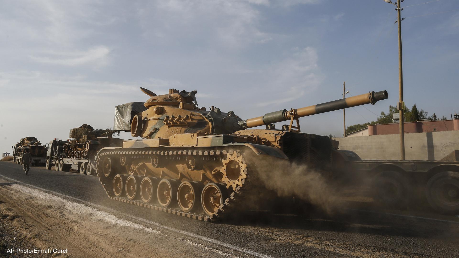 Turkey assault Syria