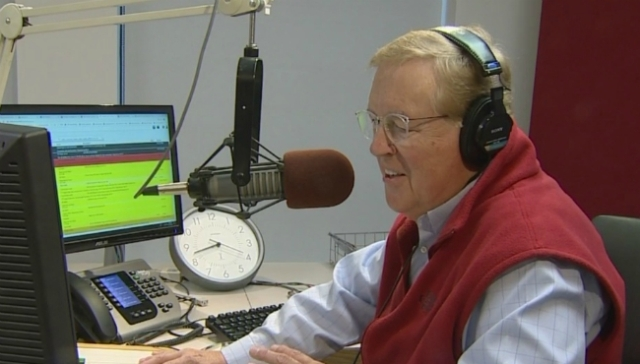 Andy Rent celebrating 50 years of broadcasting in W MI
