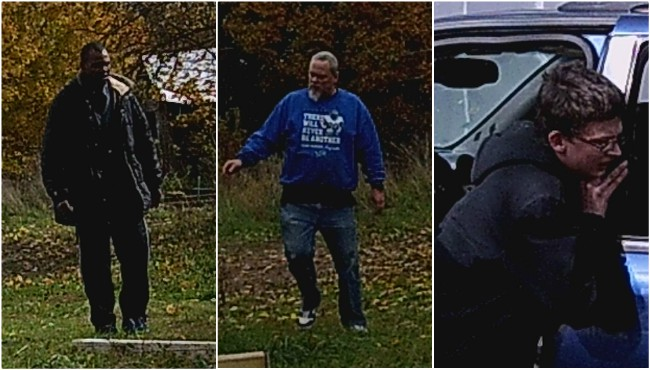 Three suspects in connection to more than 60 thefts near Calhoun County. (Calhoun County Sheriff's Office)