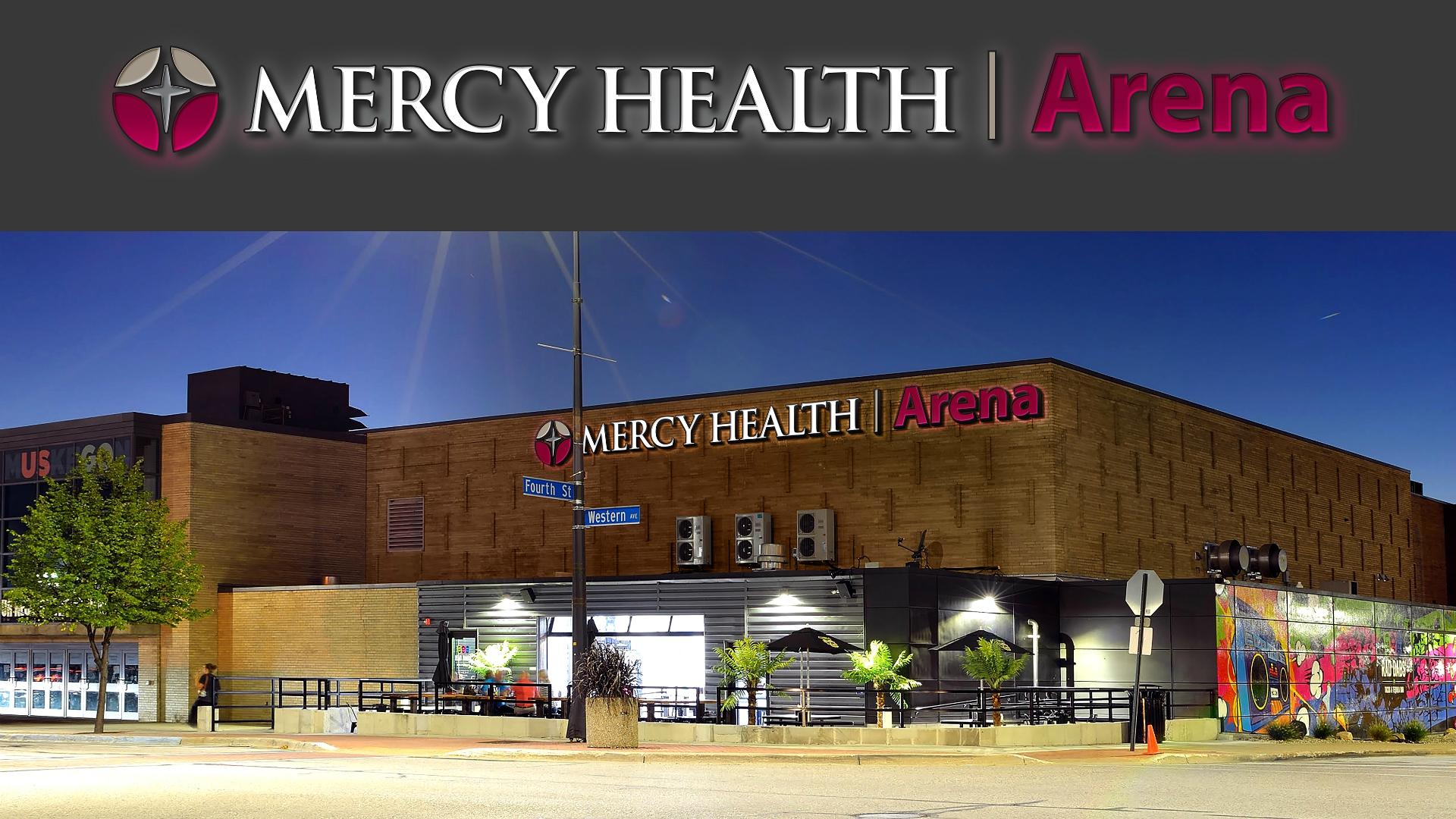 Mercy Health Arena rendering