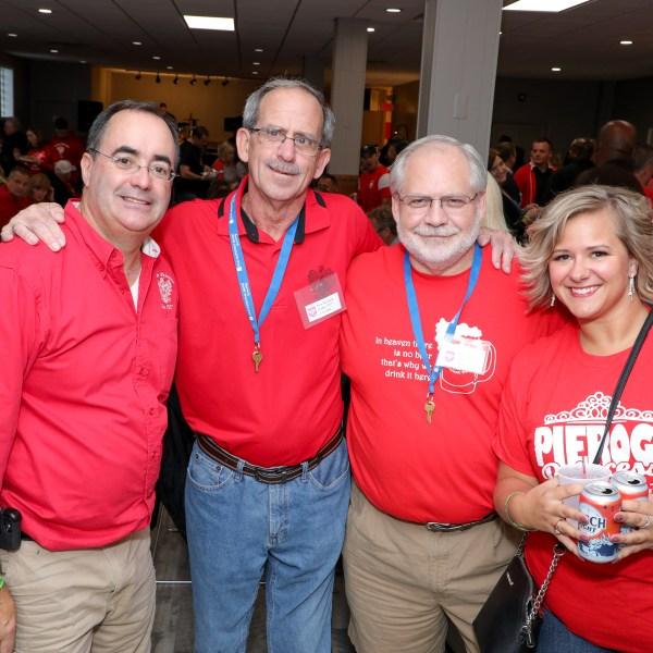 People enjoyed bar hopping as part of Pulaski Days in Grand Rapids on Oct. 4, 2019. (Michael Buck/WOOD TV8)