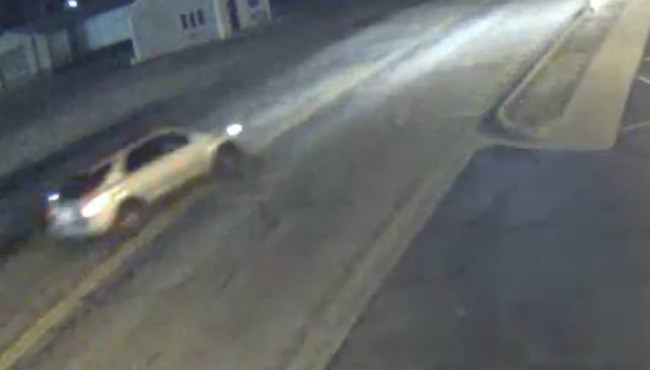 A surveillance photo of a vehicle authorities believe is connected to several break-ins in three counties. (Kalamazoo County Sheriff's Office)