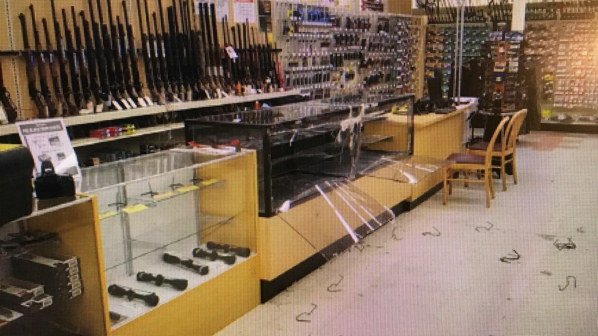 cedar springs family farm and home gun theft