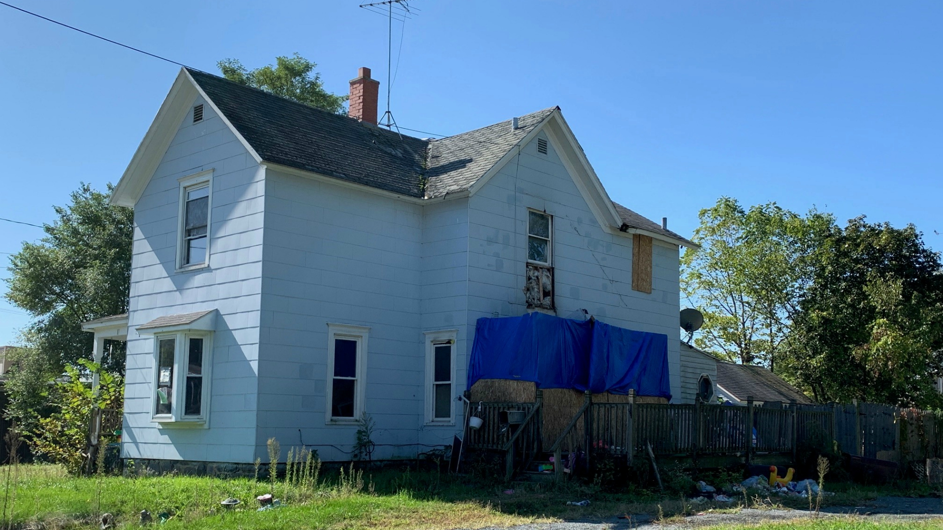 vacant house fires in Battle Creek