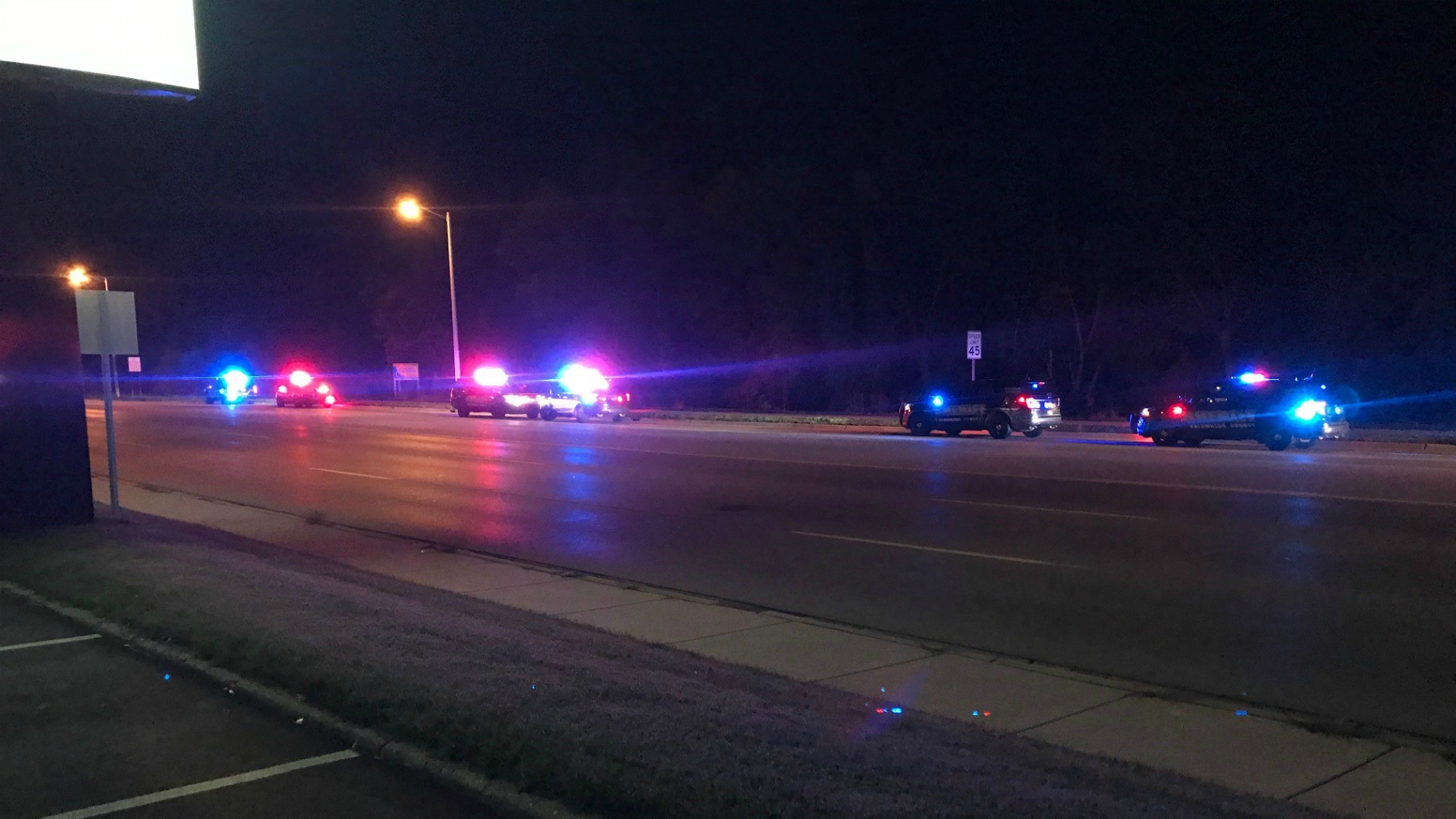 Kalamazoo Drake Road and Stadium Drive police response