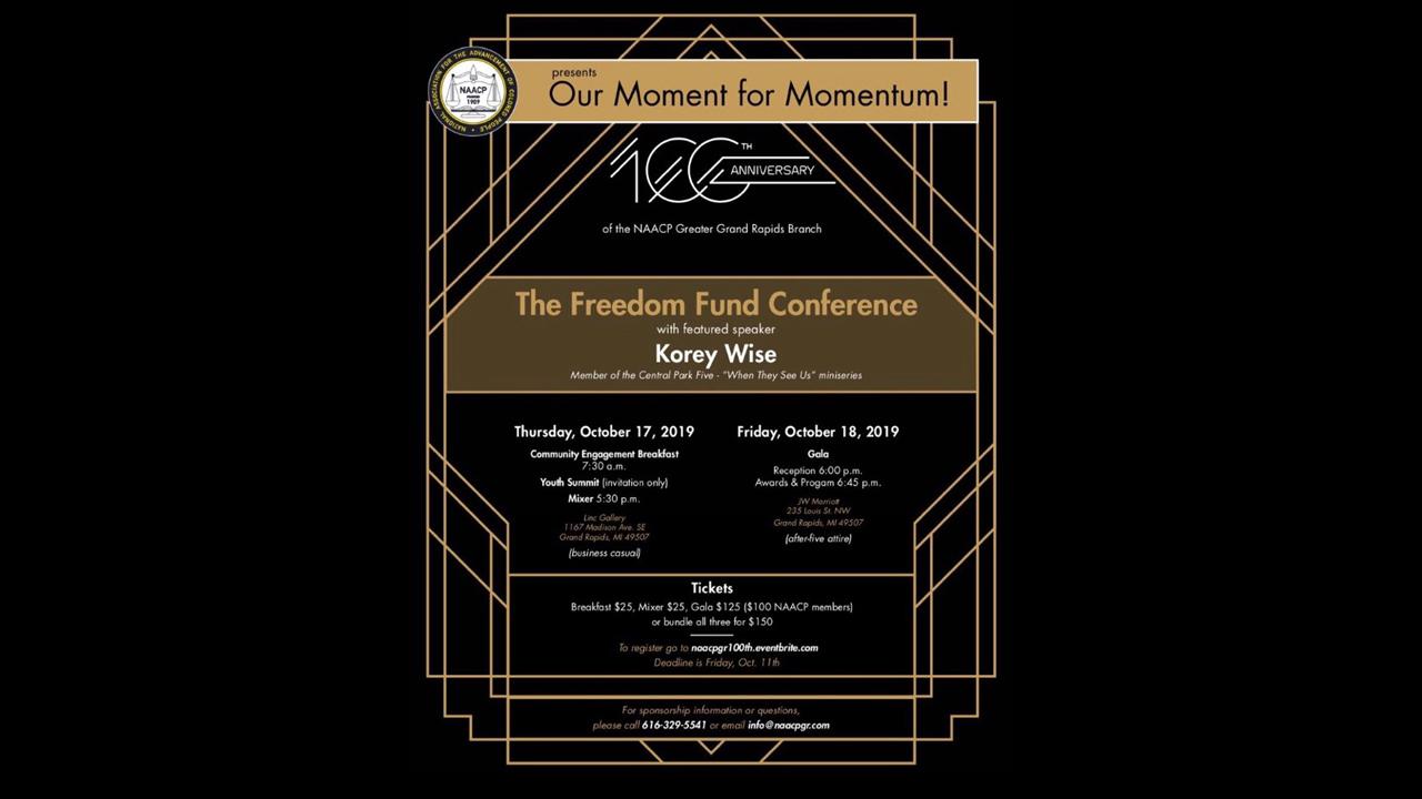 naacp freedom fund event flyer