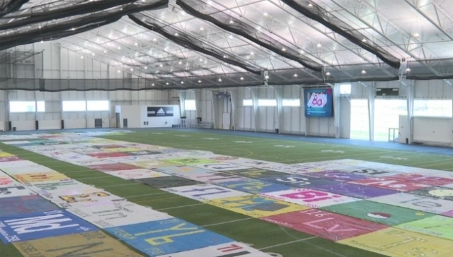 Folks aim to create largest periodic table at GVSU