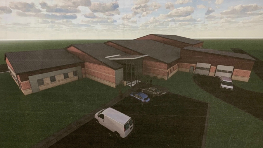 branch county jail rendering