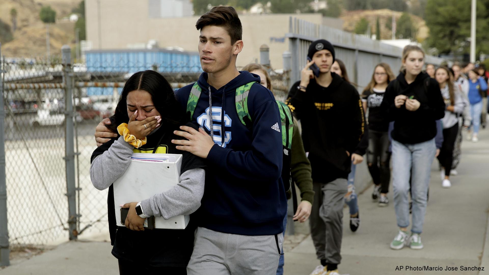 Santa Clarita California high school shooting