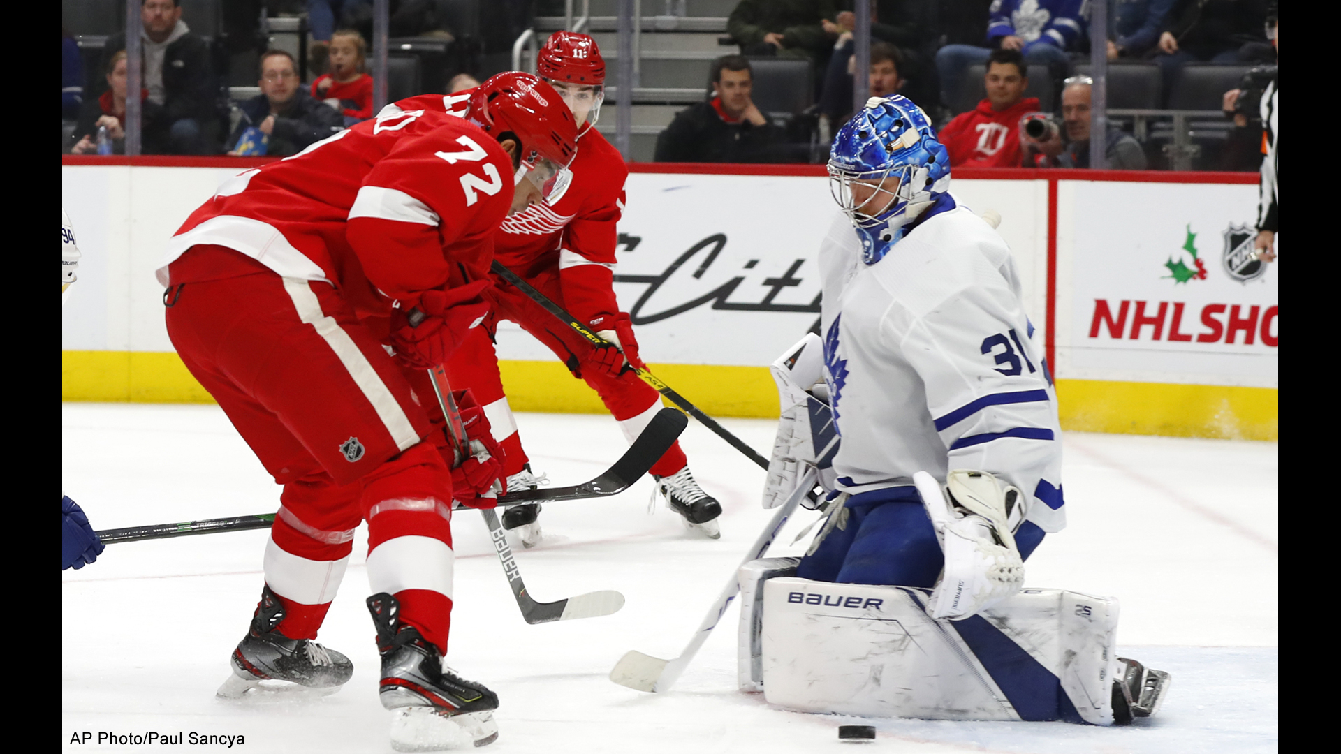 detroit red wings toronto maple leafs