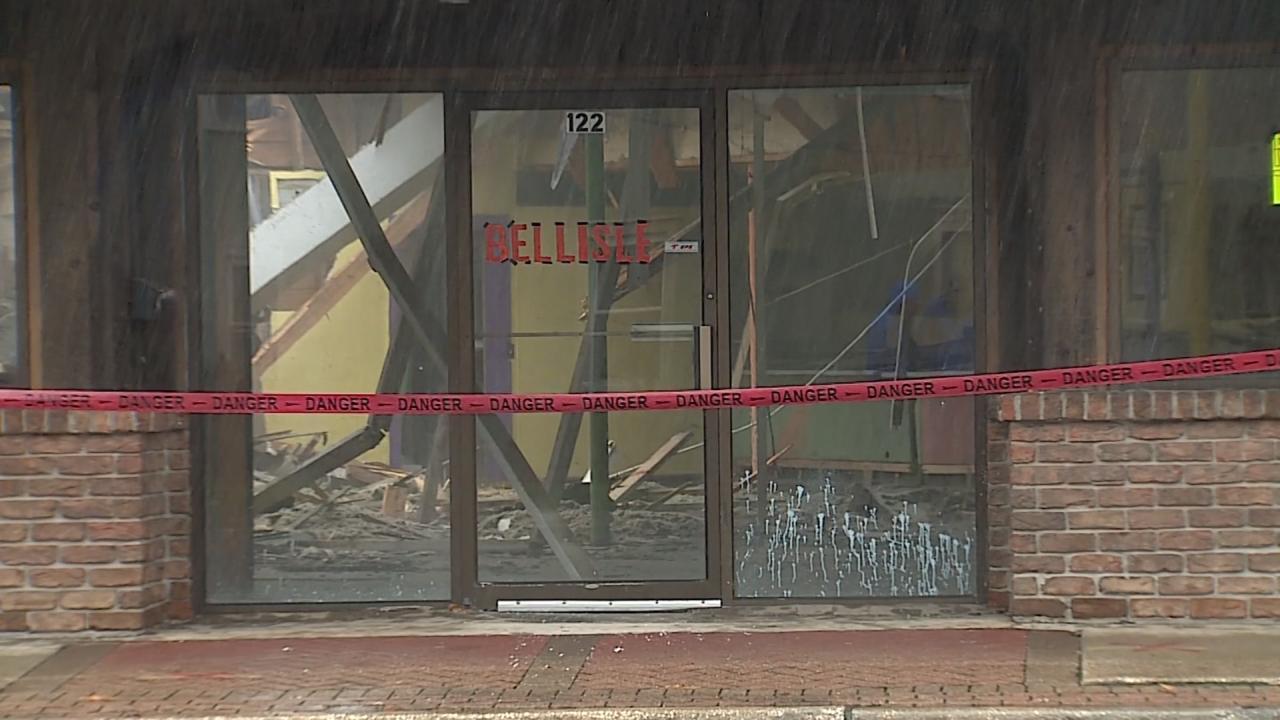 Bellisle Cut Rate Store parchment demolition