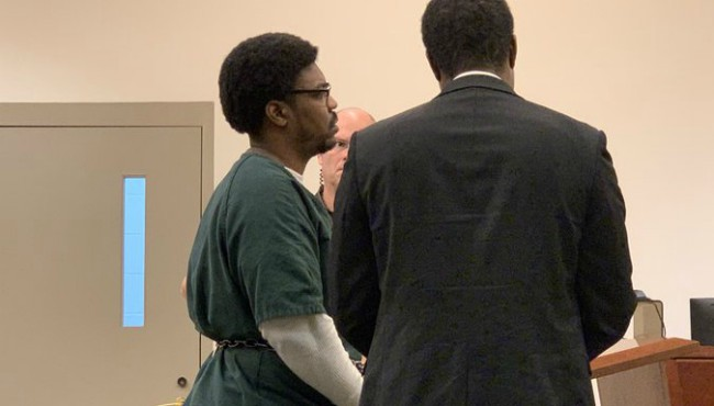 Corey Jones appears in a Kent County courtroom Monday, Nov. 4, 2019.