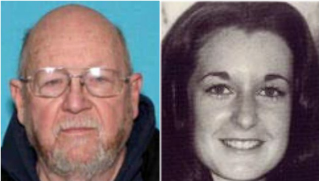 LEFT TO RIGHT: Undated courtesy photos of Dennis Lee Bowman and Kathleen Doyle. (Michigan State Police)