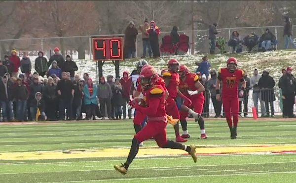 A photo of Ferris State playing Grand Valley at Top Taggart Field. (Nov. 9, 2019)