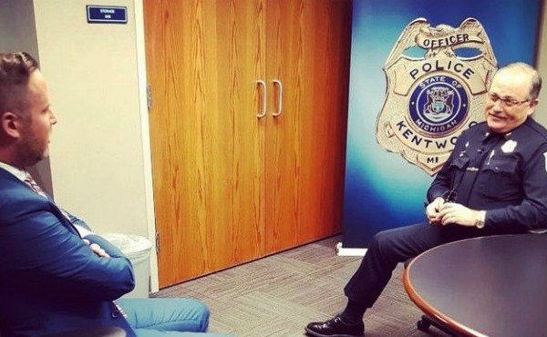 Kentwood Police Chief Tom Hillen sat down with News 8's Tom Hillen before he retired on Friday, Nov. 1, 2019.