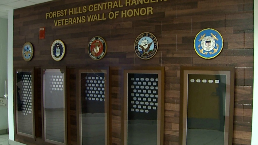 forest hills central veterans wall of honor