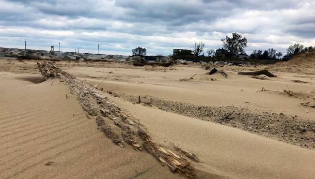 grand haven debris