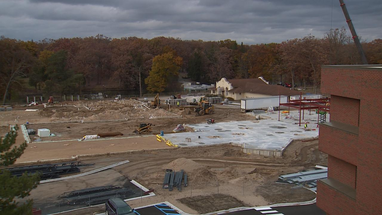 grand rapids home for veterans construction