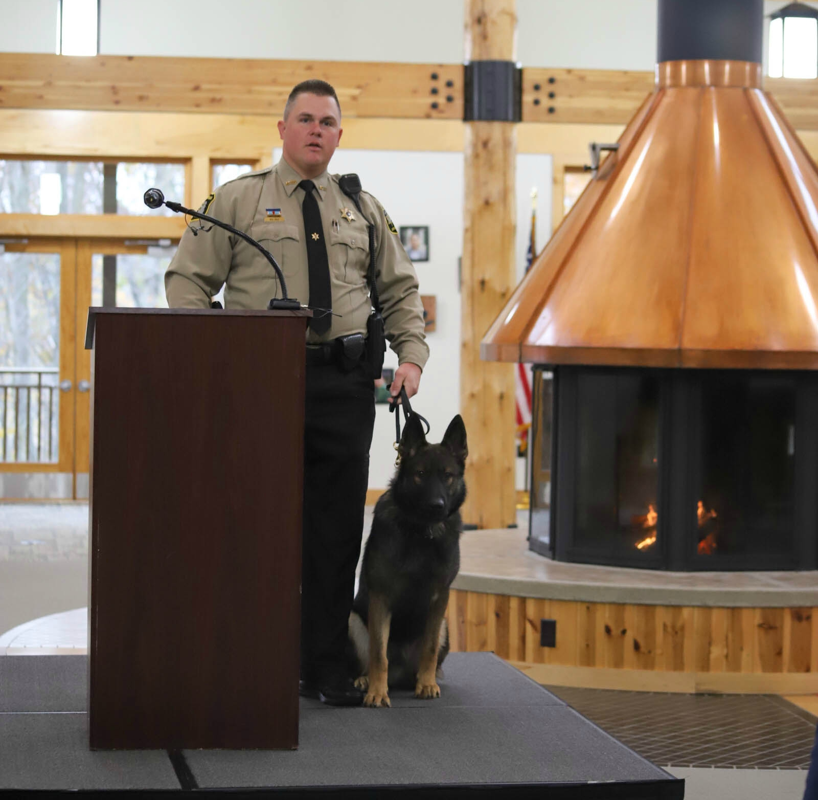 gun lake tribe allegan county sheriff's department donation