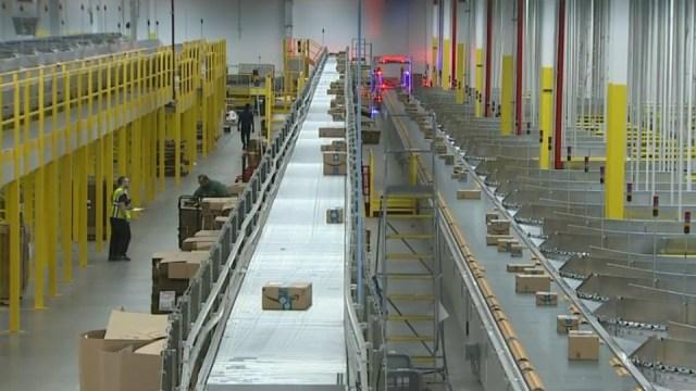 Inside Amazon's Romulus fulfillment center