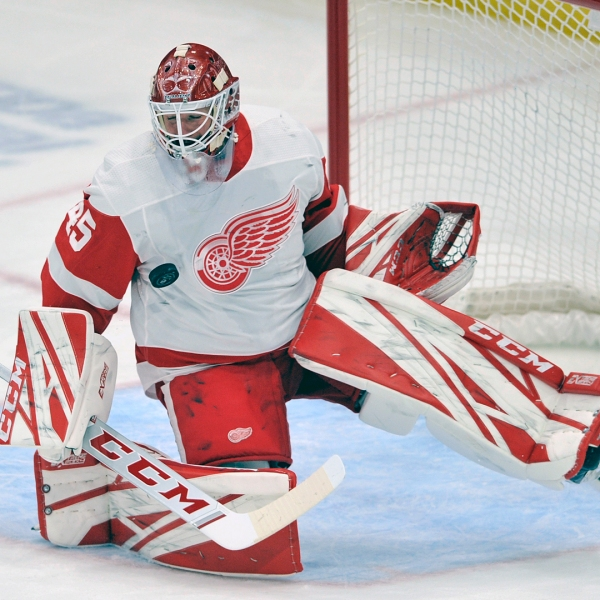 Detroit Red Wings Jonathan Bernier
