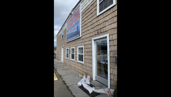 A photo of the outside of Adventure Water Sports in South Haven.  (Dec. 6, 2019)