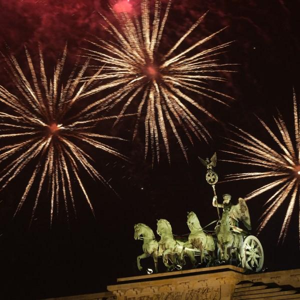 New Year's celebration Germany
