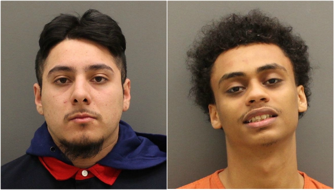 Undated booking photos of Jonathan Jair Garces-Palma (left) and Nilson Jose Morales. (Courtesy of the Ottawa County Sheriff's Office)