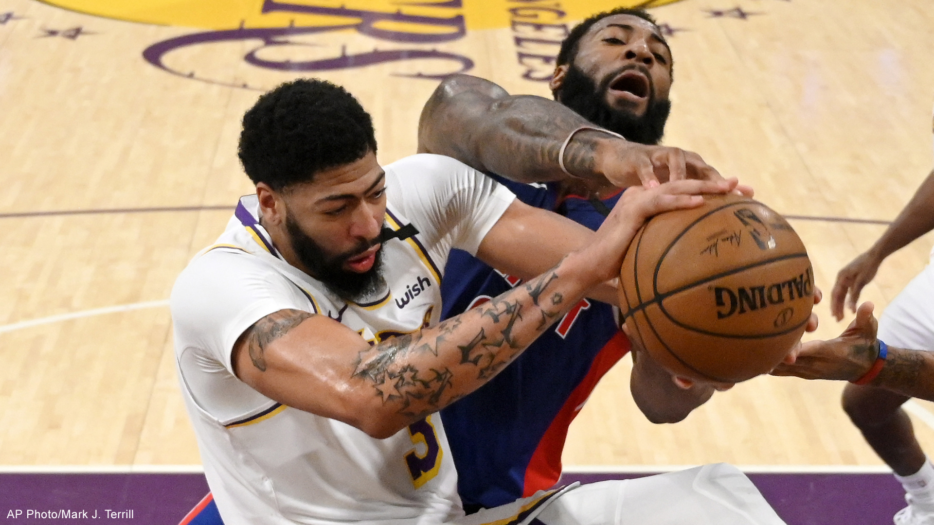 detrot pistons los angeles lakers