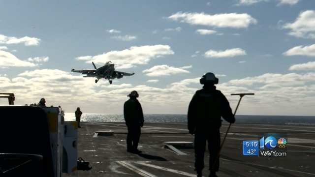 Inside look: Testing aboard the USS Gerald R. Ford