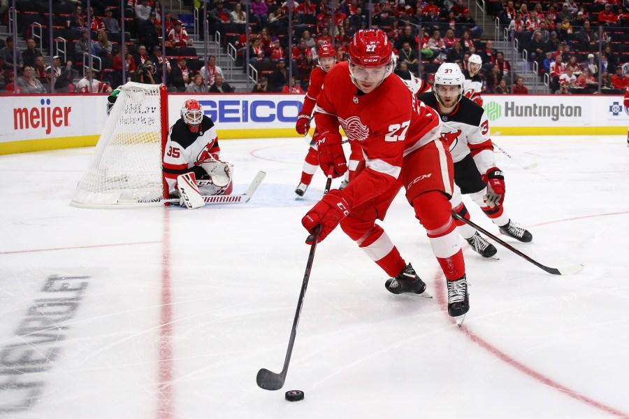 Detroit Red Wings Michael Rasmussen
