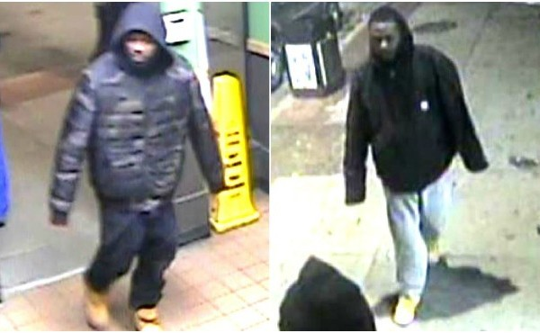 Grand Rapids are asking for the public's help identifying two persons of interest in connection to a shooting and attempted robbery.
